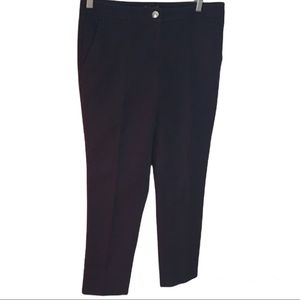 Vince Camuto navy cropped pant